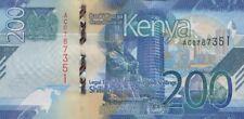 KENYA 200 SHILLINGS 2019 P-NEW UNC