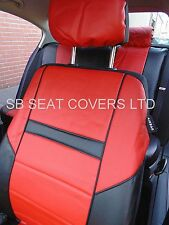i - TO FIT A TOYOTA PICNIC CAR, S/ COVERS, LEATHERETTE, BLACK / red 59.99