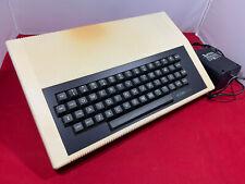 Acorn Atom computer with BBC BASIC Conversion card, PSU & Manual in original box