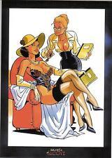 """ex libris Meynet: """"Secrets d'Alcôve"""" - non signé  - 8"""