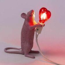 Tischleuchte Seletti Maus Lampe Love Special Edition San Valentino - Topoli