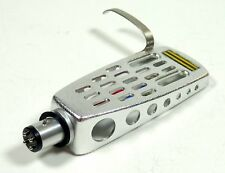 Turntable Universal Silver Aluminum Head Shell With Lead Wires Phonograph Stylus