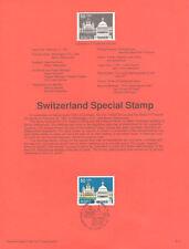 #9107 50c Switzerland  Stamp #2532 USPS Souvenir Page