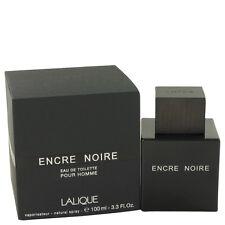 Lalique Encre Noire Fragrance 3.4oz Eau De Toilette MSRP $125 NIB