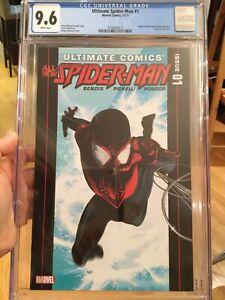 ULTIMATE COMICS ALL NEW SPIDERMAN #1 CGC 9.6 ORIGIN, 2nd APP MILES MORALES L@@K!