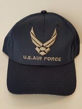 U.S. Air Force Vented Baseball Cap Navy Blue Adjustable