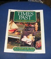 TIMES PAST ISSUE NO.94 - A WALK IN THE PARK