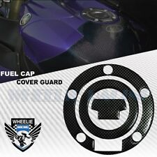 CARBON BLACK GAS TANK FUEL CAP COVER PROTECTION GUARD YAMAHA R1/R6 YZF/FZ/FJ
