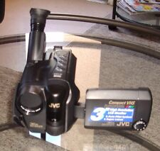 JVC COMPACT SUPER VHS CAMCORDER , AT THIS PRICE ITS A STEAL