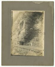 Early 20th Century Railroad - Trackside Shack - Vintage Photograph