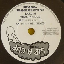 EARL 16 TRAMPLE BABYLON /FOOT OF THE MOUNTAIN 4 Titles EP SIP A CUP GUSSIE P