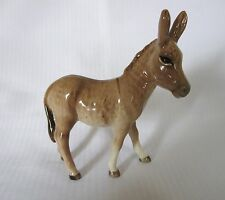 ....BESWICK DONKEY FOAL no. 2110 - GREY-BROWN GLOSS...EXCELLENT....
