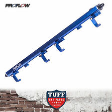 VL Holden Commodore RB30 Proflow Billet Top Feed Fuel Rail Kit Blue 14mm Turbo