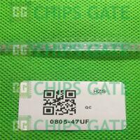 30PCS Japan 0805 47uF 476 10V X5R +-20% MLCC SMD Ceramic Capacitor
