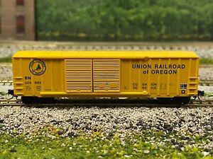 N Scale - MTL 30170 Union Railroad of Oregon 50' Rib Side Boxcar BN 223665 N4560