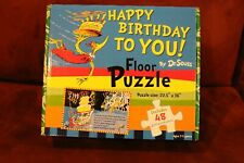 "Dr. Seuss ""Happy Birthday to You!"" Large Floor Puzzle NIB"