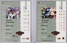 Brad Johnson 1998 Playoff Contenders Ticket Registered Exchange Redemption #3/8