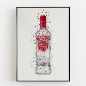 P0088 | Vodka Bottle | Wall Art Print | Poster | Liquor | Bar | Pub | Restaurant