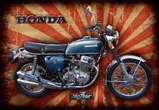 Honda 750 Four vintage retro repro Signs