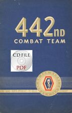 CD Book 442nd Combat Team 1943 1945 100th Infantry Battalion Arno Po Valley Rome