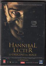 HANNIBAL LECTER le origini del male - DVD