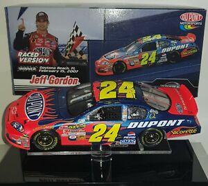 Jeff Gordon 2007 Daytona Duel Win Diecast