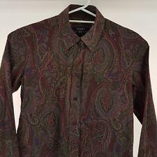 Gant Mens Long Sleeve Casual Shirt Floral Slim Fit Size AU 8