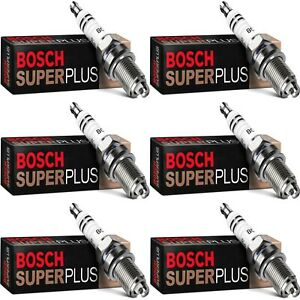 6 Bosch Copper Core Spark Plugs For 1990-1991 MASERATI 430I V6-2.8L