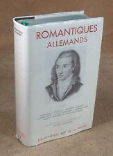 LA PLEIADE : ROMANTIQUES ALLEMANDS 1 -   1963