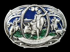 Rodeo Cowboys Western Bull Riders Belt Buckles Boucle de Ceintures
