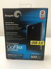 Seagate STAA500105  FreeAgent GoFlex 500 GB USB 3.0 Ultra-Portable External HDD
