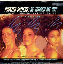 Pointer Sisters - He Turned Me Out, USA Single 1987