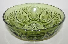 "VTG Indiana Glass Early American Round Vegetable Serving Bowl  - 8"" - EUC"
