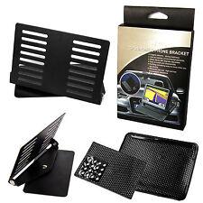 Auto Handy Halterung Winkel verstellbar mit Antirutsch Pad für Smartphone Navi