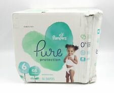 Pampers Pure Protection Disposable Diapers Size 6 (35+ lb) 66 Count