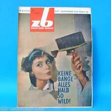 DDR Zeit im Bild ZB NBI 4/1964 Genf Boxen DEFA Malaysia Rio de Janeiro M. Krug
