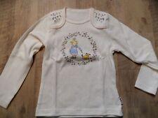 JAKOO Langarmshirt Prinzessin Maike Taddicken creme Gr. 104/110 NEU ST817