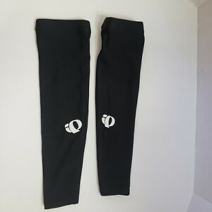 PEARL iZUMi Thermal Arm Warmer Sleeves Black Pair Size Medium