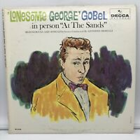 """Lonesome George Gobel - In Person """"At the Sands"""" (Decca 4163) NM Vinyl Record LP"""