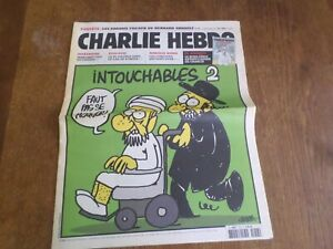 CHARLIE HEBDO n° 1057, INTOUCHABLES 2, septembre 2012