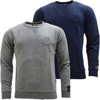 Mens Replay Sweatshirt Jumper / Crew Neck Casual Soft Cotton Top