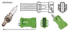 NGK NTK Oxygen Lambda Sensor OZA759-EE1 fits Peugeot 307 1.6 16V (80kw)