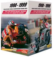MOTO GP WORLD CHAMPIONSHIP REVIEWS 1990 to 1999 - 10 DVD BOX SET - MOTO GP DVDs