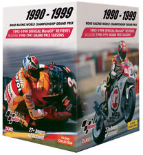 MOTO GP WORLD CHAMPIONSHIP REVIEWS 1990 to 1999 - 10 DVD BOX SET - MOTO GP DVDs