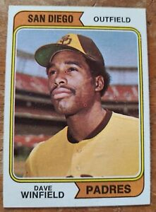 1974 Topps Dave Winfield 456 Rookie RC NM MT
