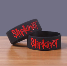 Slipknot Silicone Rubber Wristband bracelet jewelry new 1pcs