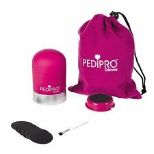 Pedi Pro Deluxe Pedicure Elettrico Set Buffer tacco e sigillati Nuovo di Zecca