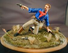 120mm 1/16 George Armstrong Custer 7th Cavalry Little Big Horn Resin Kit