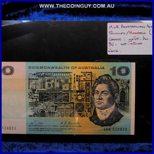 1968 Australian Ten Dollar Notes ghEF-AU