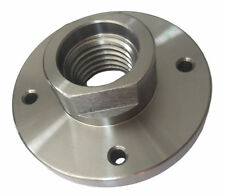 """3"""" Steel Face Plate 1-8 Threaded for Wood Lathe Turning"""